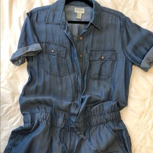 Chambray denim jumpsuit FOREVER 21